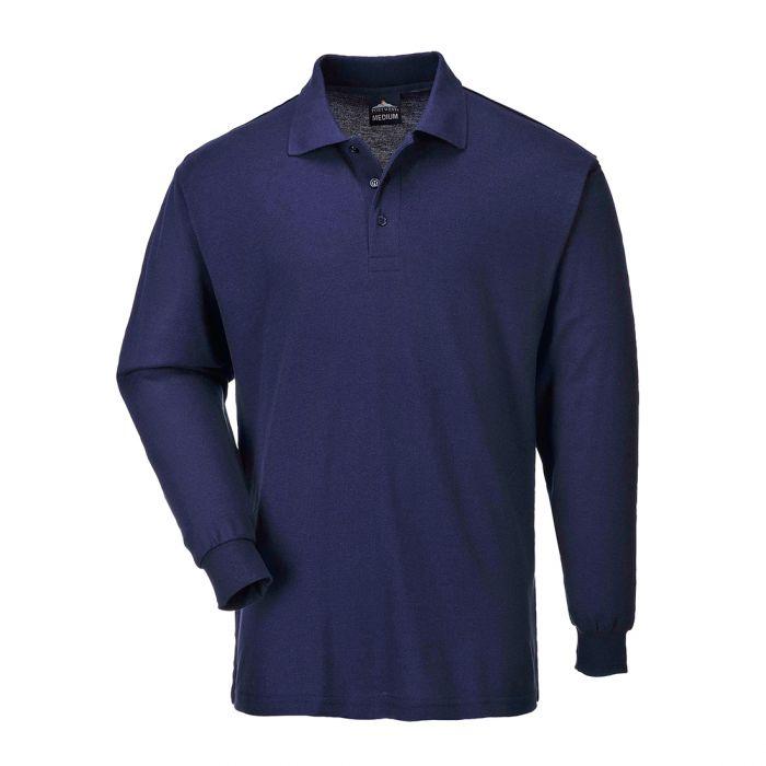 Portwest Genoa Long Sleeved Polo Shirt - B212