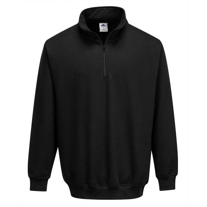 Portwest Sorrento Zip Neck Sweatshirt - B309
