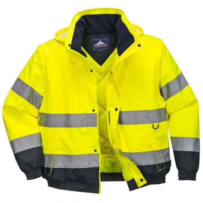 Portwest HI-Vis 2-in-1 Jacket - C468