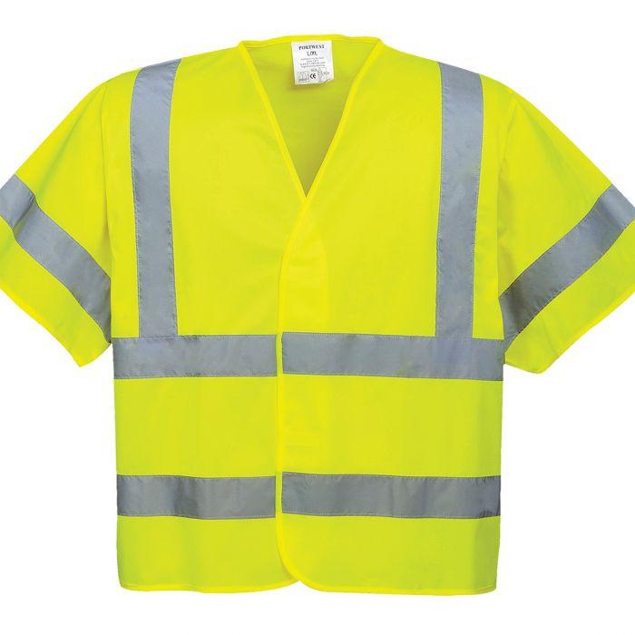 Portwest Hi-Vis Short Sleeved Vest - C471
