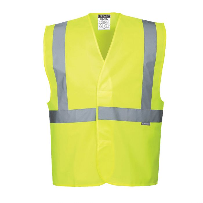Portwest Hi-Vis One Band & Brace Vest - C472