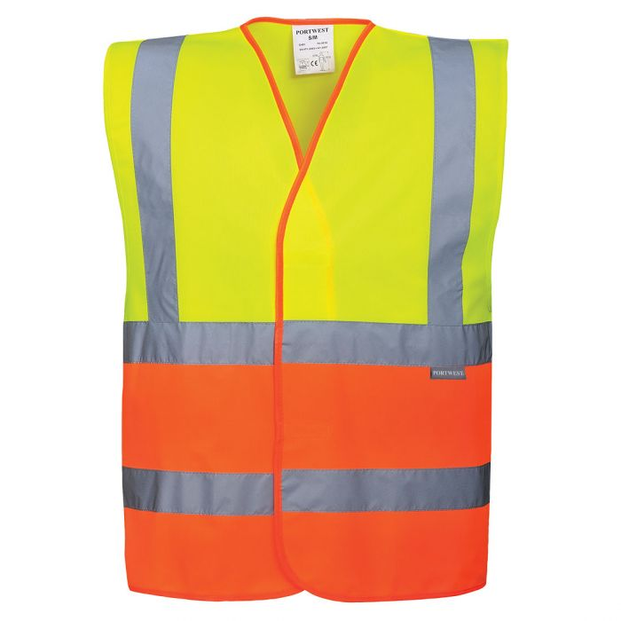 Portwest Two Tone Hi-Vis Vest - C481