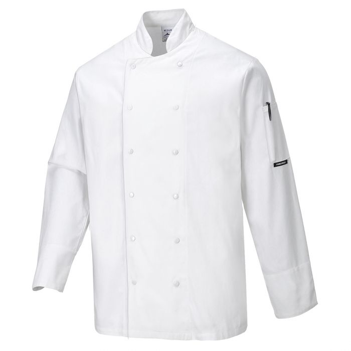 Portwest Dundee Chefs Jacket - C773