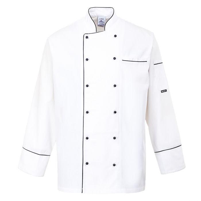 Portwest Cambridge Chefs Jacket - C775