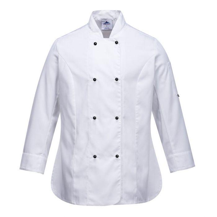 Portwest Rachel Ladies Chefs Jacket - C837