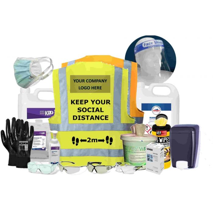 COVID-19 Essential Suistainable Workplace Protection Range