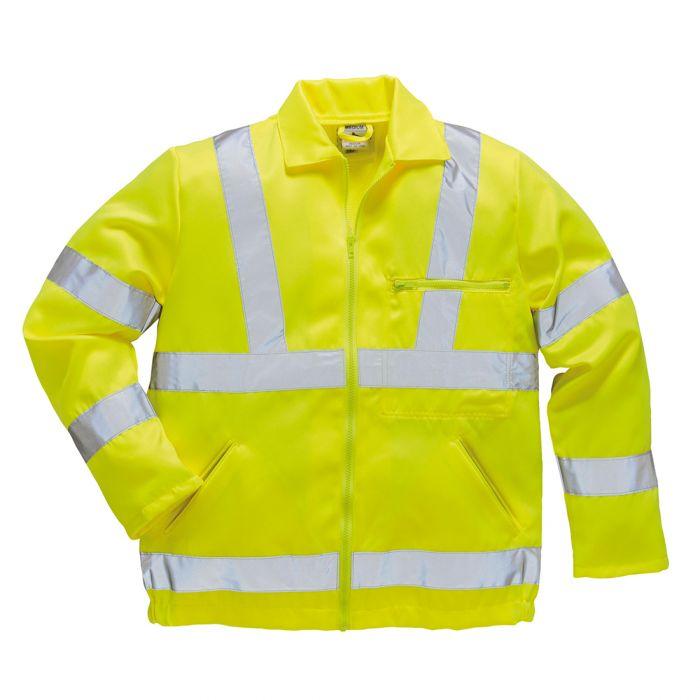 Portwest Hi-Vis Poly-cotton Jacket - E040
