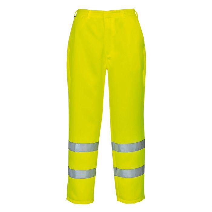 Portwest Hi-Vis Poly-cotton Trousers - E041