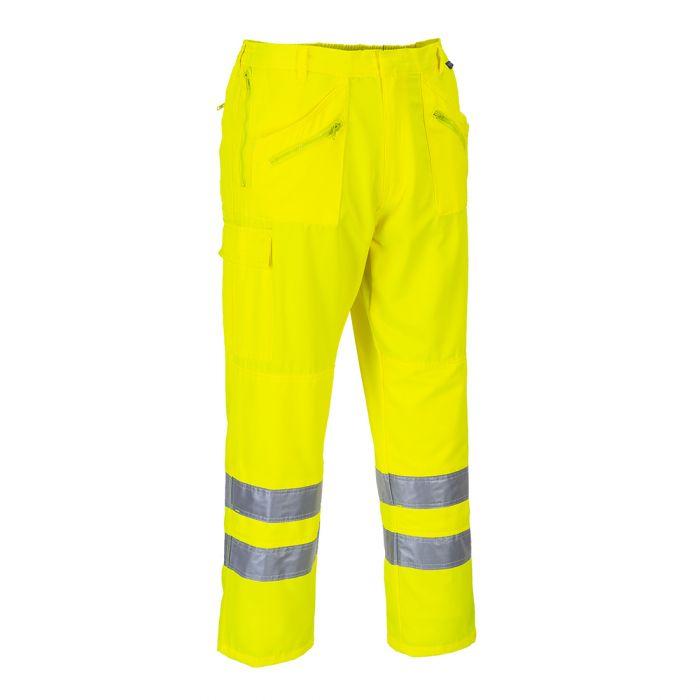 Portwest Hi-Vis Action Trousers - E061