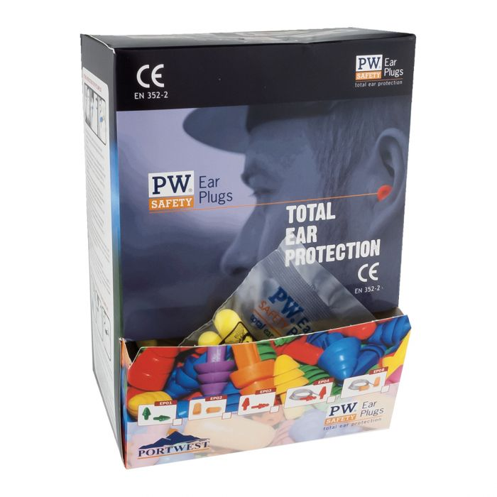 Portwest Ear Plug Dispenser Refill Pack - EP21