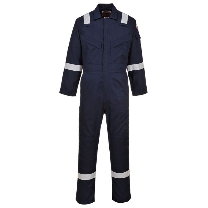 Portwest Flame Resistant Super Light Weight Anti-Static Coverall 210g - FR21