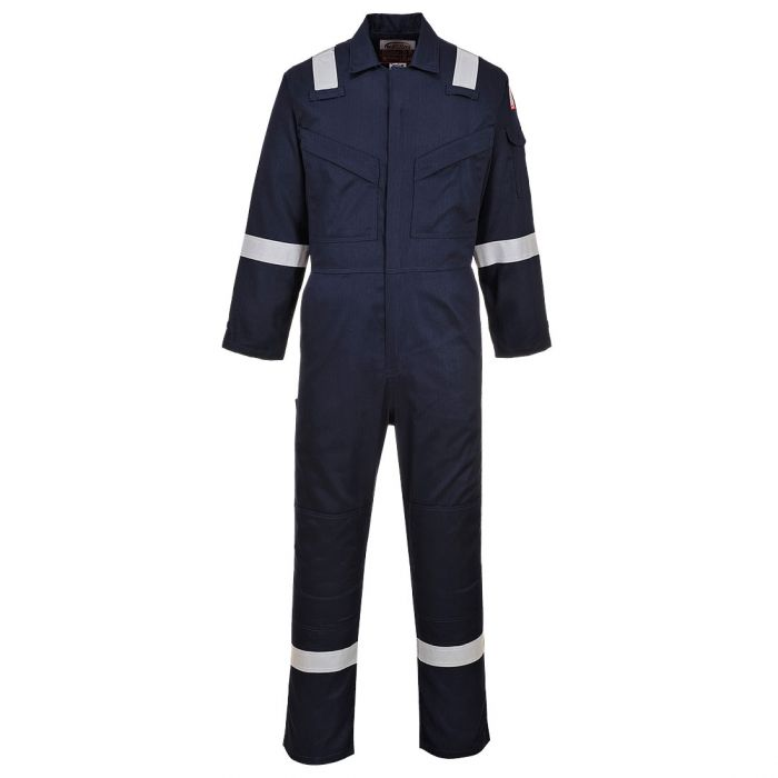 Portwest Flame Resistant Light Weight Anti-Static Coverall 280g - FR28