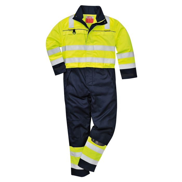 Portwest Hi-Vis Multi-Norm Coverall - FR60