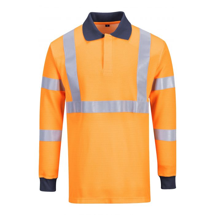 Portwest Flame Resistant RIS Polo Shirt - FR76