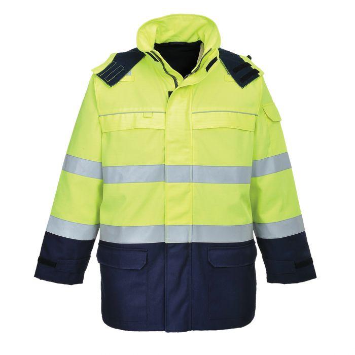 Portwest Bizflame Multi Arc Hi-Vis Jacket - FR79
