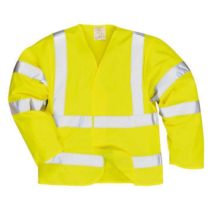 Portwest Hi-Vis Anti Static Jacket - Flame Resistant - FR85