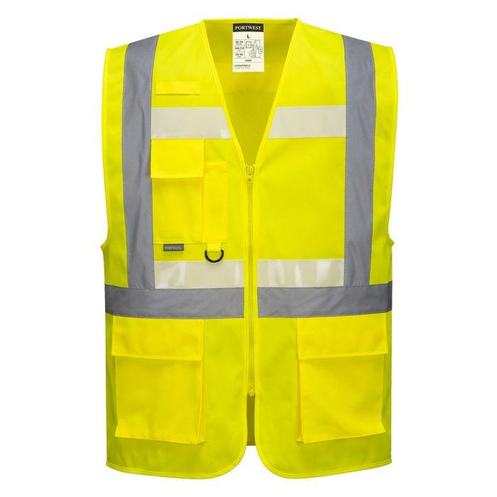 Portwest Glowtex Ezee Zip Executive Vest - G456