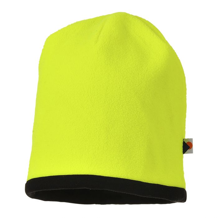 Portwest Reversible Hi-Vis Beanie Hat - HA14