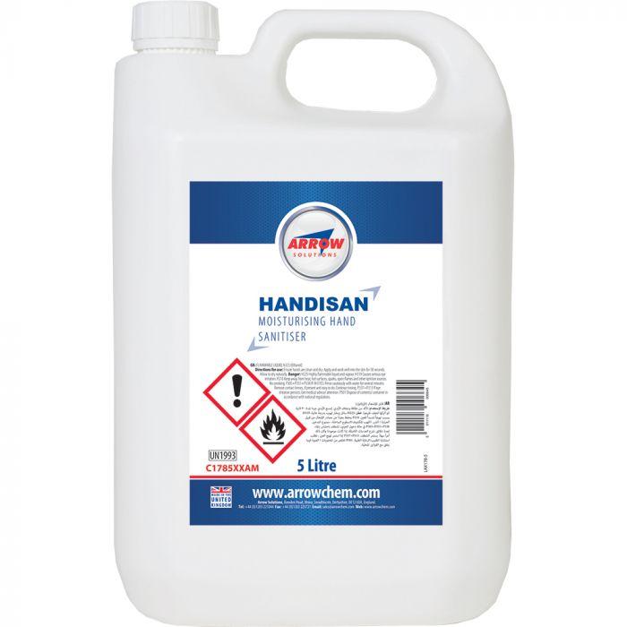 HANDISAN BACTERIAL HAND CLEANSER 5 LITRE - C178