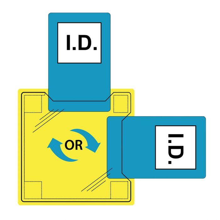 Portwest Dual ID Holder - Heatseal - ID30