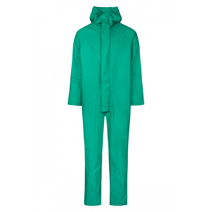 Lyngsoe Green Waterproof Checmical Suit - P-1007