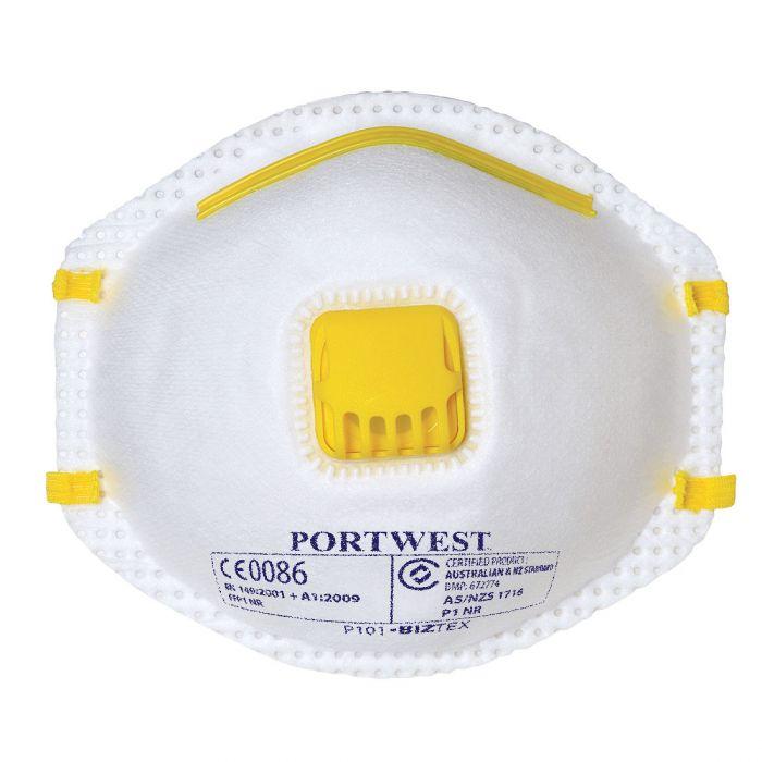 Portwest FFP1 Valved Respirator - P101