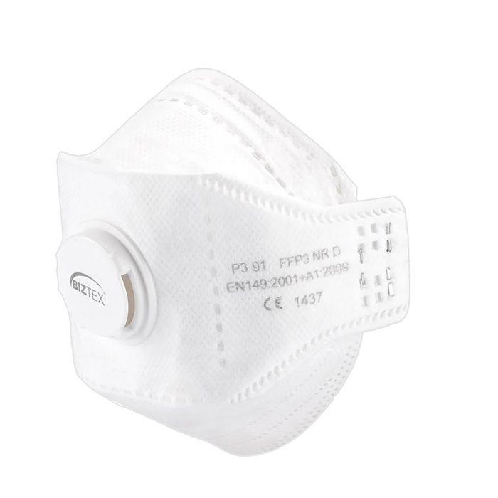 Portwest EAGLE FFP3 Valved Dolomite Fold Respirator - P391