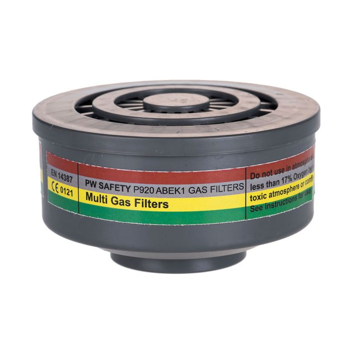 Portwest ABEK1 Gas Filter Special Thread Connection - P920