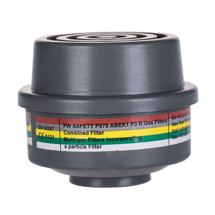Portwest ABEK1P3 Combination Filter Special Thread Connection - P970