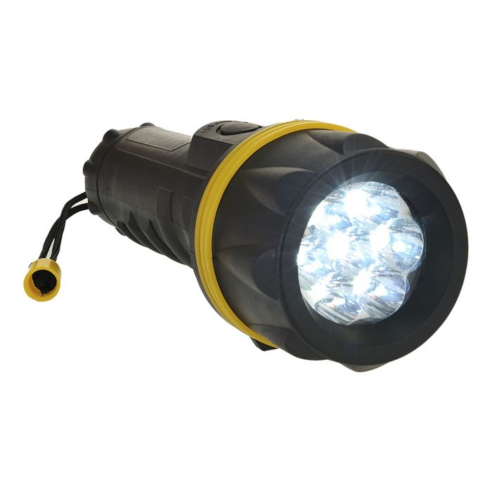 Portwest 7 LED Rubber Torch - PA60
