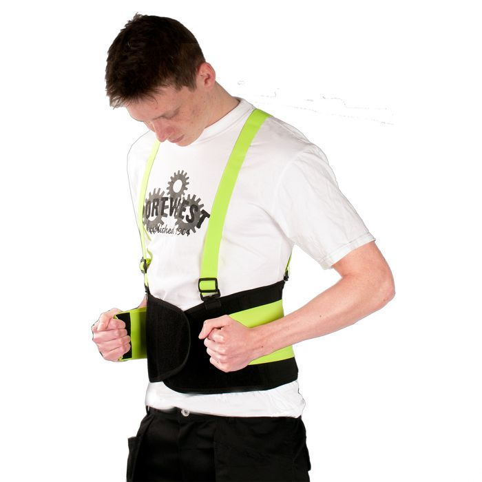 Portwest Hi-Vis Support Belt - PW81