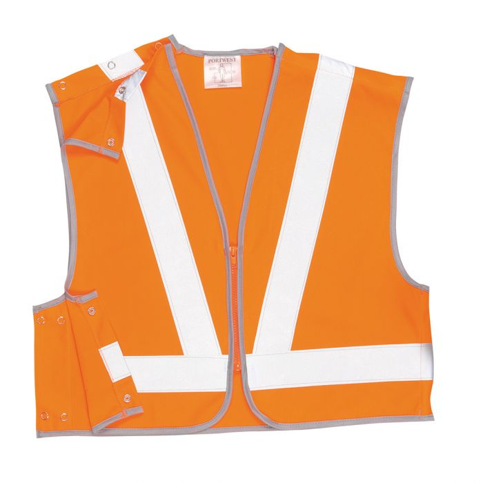 Portwest Hi-Vis  Short Vest, RIS - RT21