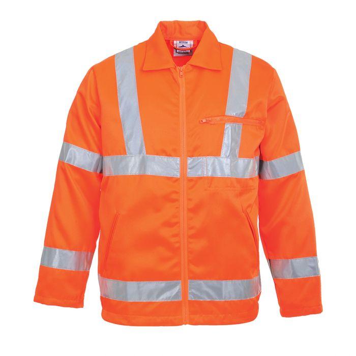 Portwest Hi-Vis Poly-cotton Jacket RIS - RT40