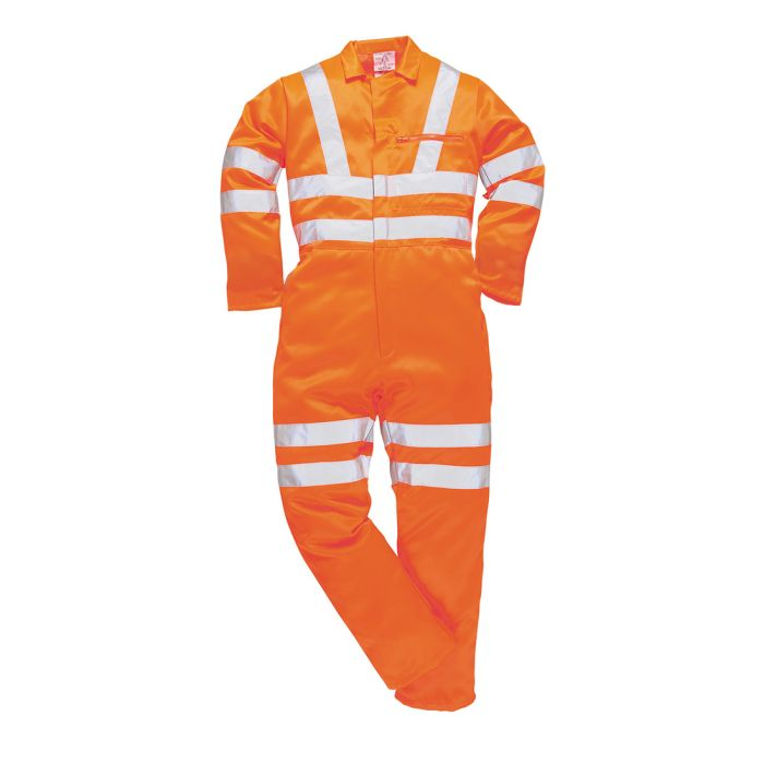 Portwest Hi-Vis Poly-cotton Coverall RIS - RT42