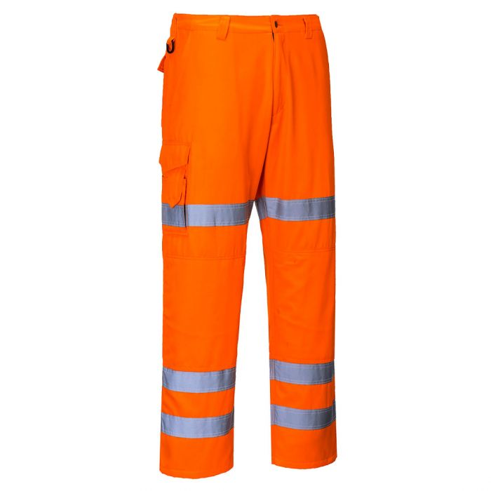 Portwest HiVis Three Band Combat Trousers - RT49