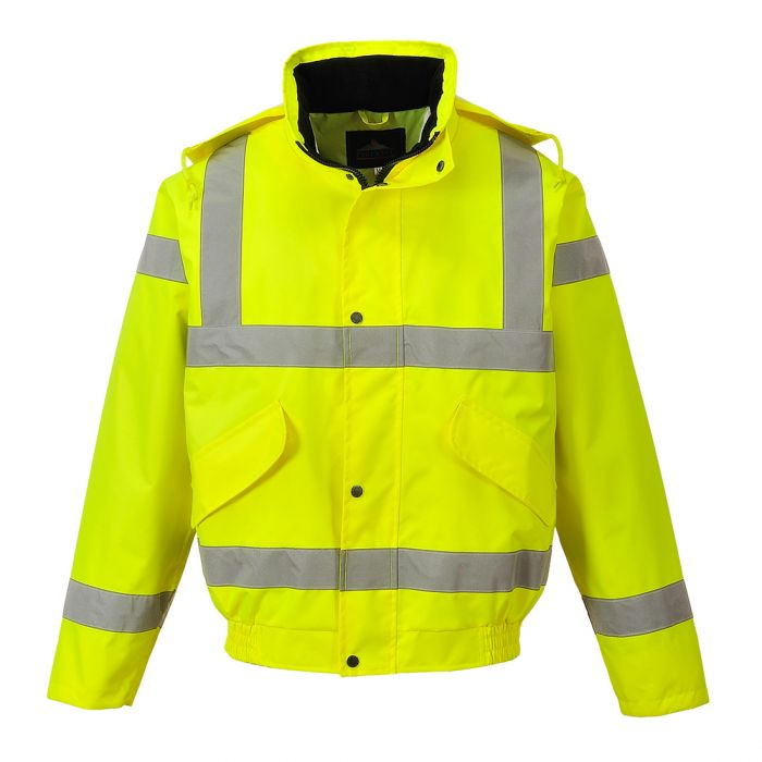Portwest Hi-Vis Breathable Bomber Jacket - RT62