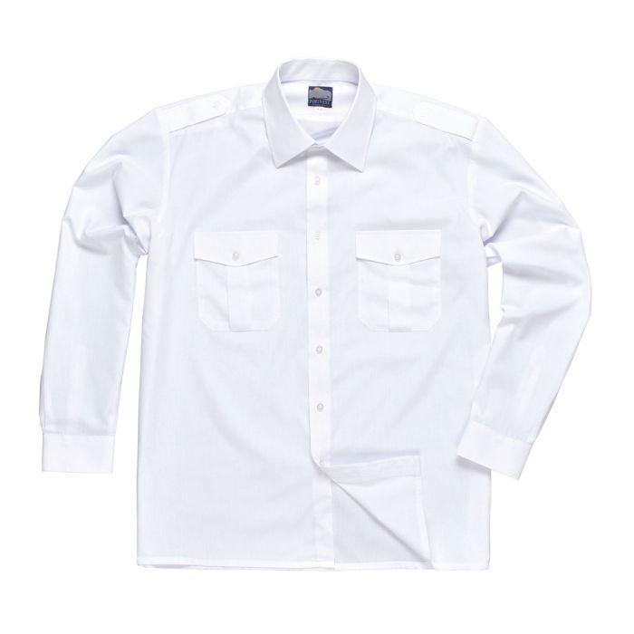 Portwest Pilot Shirt, Long Sleeves - S102