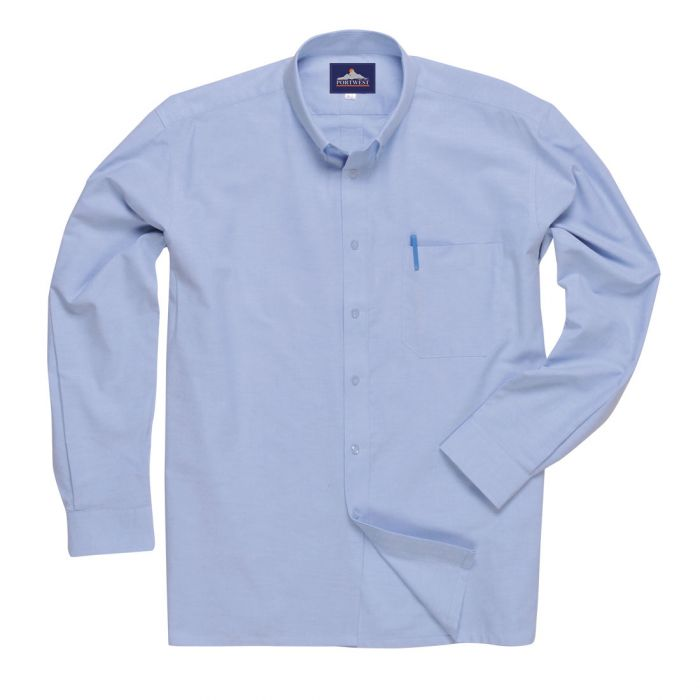 Portwest Easycare Oxford Shirt, Long Sleeves - S117