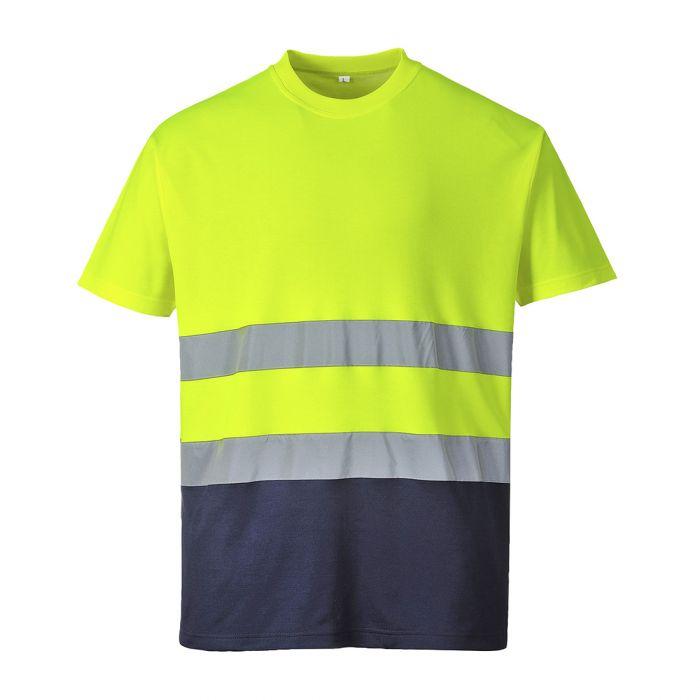 Portwest Two Tone Cotton Comfort T-shirt - S173