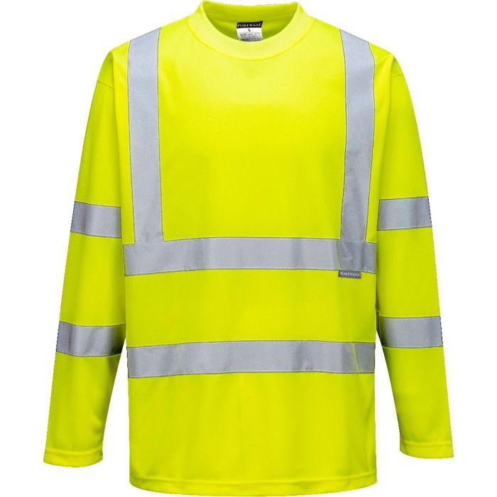 Portwest Hi-Vis Long Sleeved T-Shirt - S178X