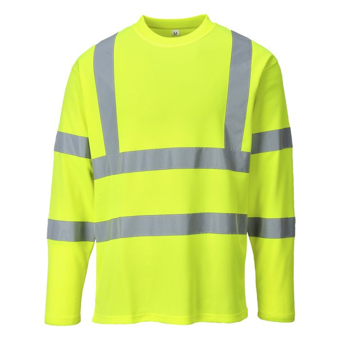 Portwest Hi-Vis Long Sleeved T-shirt - S278