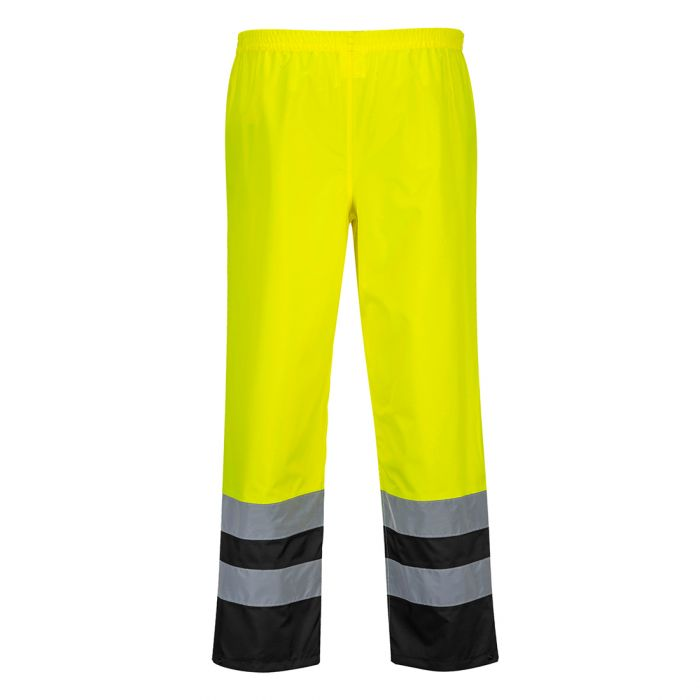 Portwest Hi-Vis Two Tone Traffic Trousers - S486