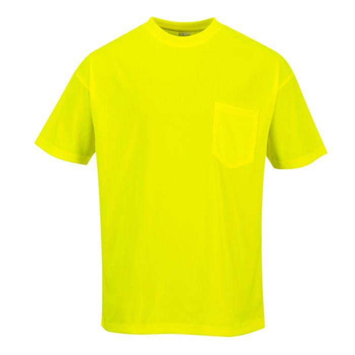 Portwest Day-Vis Pocket Short Sleeve T-Shirt - S578
