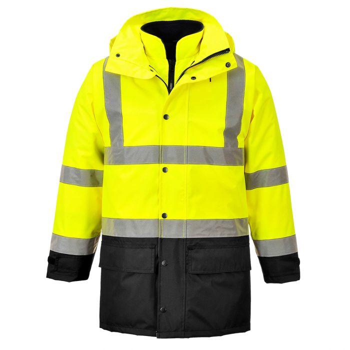 Portwest Hi-Vis Executive 5-in-1 Jacket - S768