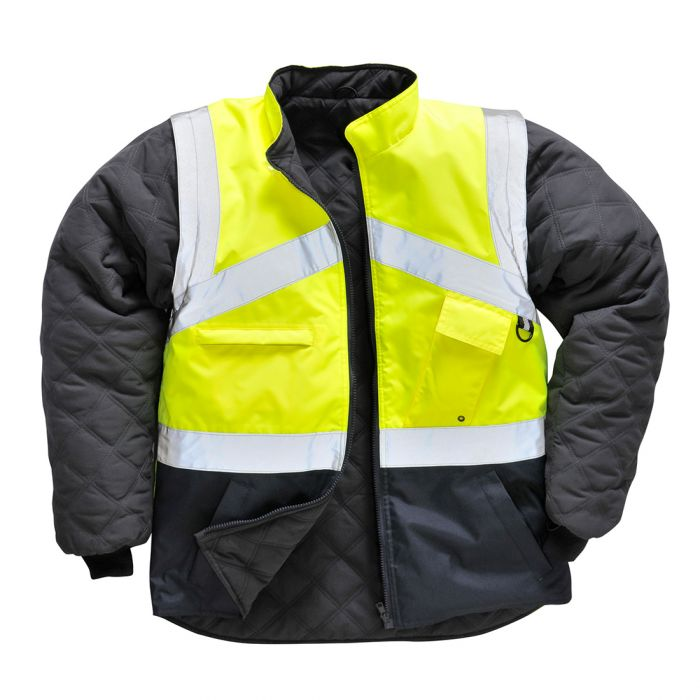 Portwest Hi-Vis 2-Tone Jacket - Reversible - S769