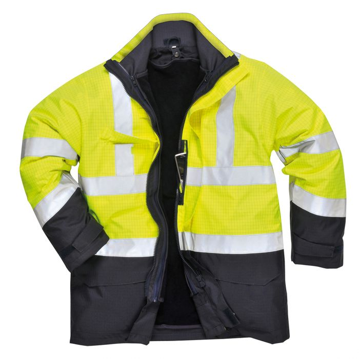 Portwest Bizflame Rain Hi-Vis Multi-Protection Jacket - S779
