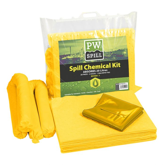 Portwest 20 Litre Chemical Kit - SM90