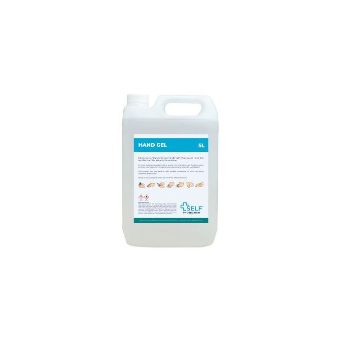 Self-protection 70% Alcohol hand gel 5L SP305