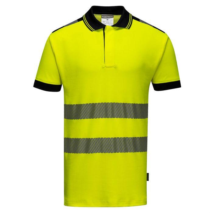 Portwest PW3 Hi-Vis Polo Shirt S/S - T180