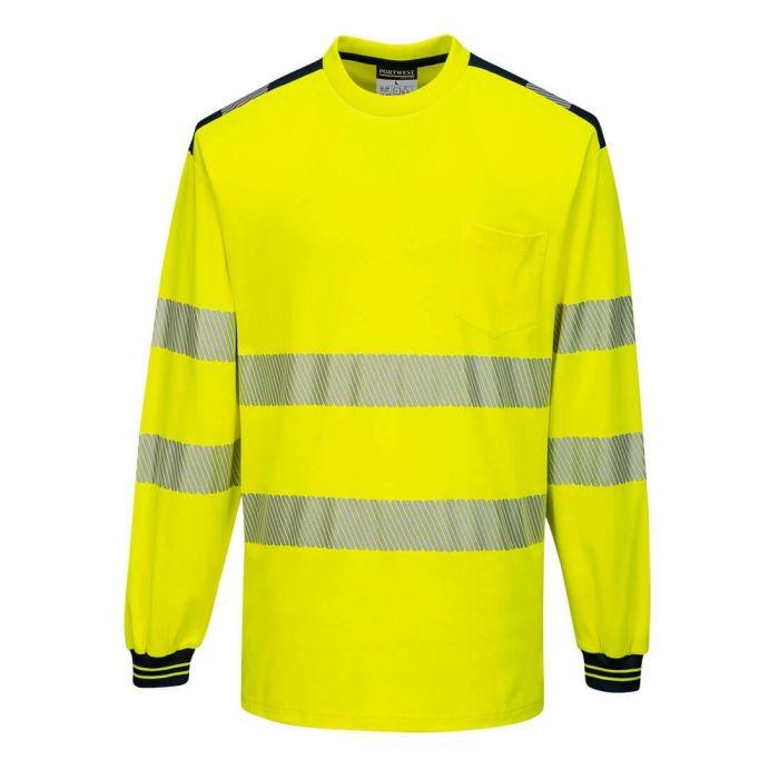 Portwest PW3 Hi-Vis T-Shirt L/S - T185
